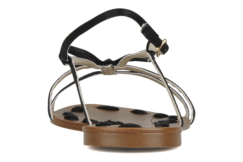Sandalen Chocolate Schubar Schu-Schu schwarz ansicht von rechts