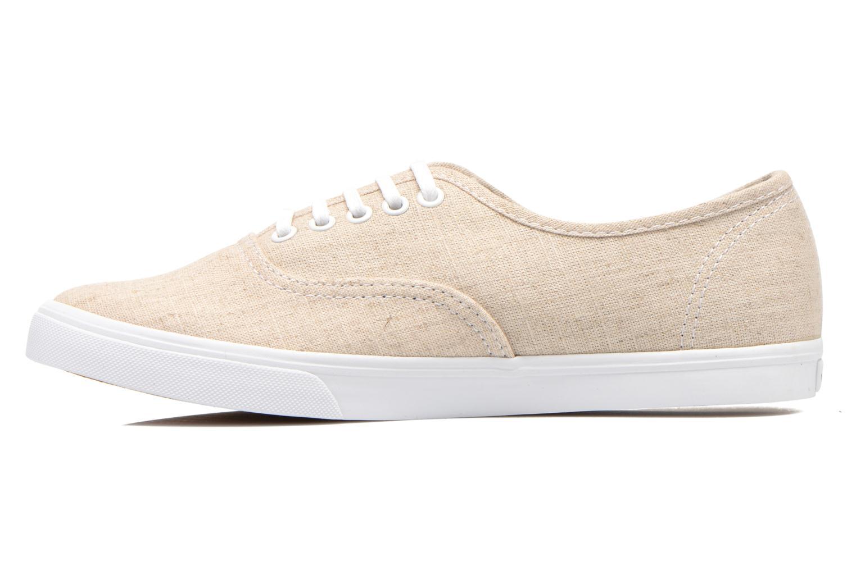 Sneakers Vans Authentic Lo Pro W Beige voorkant