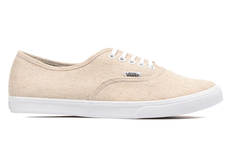Sneakers Vans Authentic Lo Pro W Beige achterkant