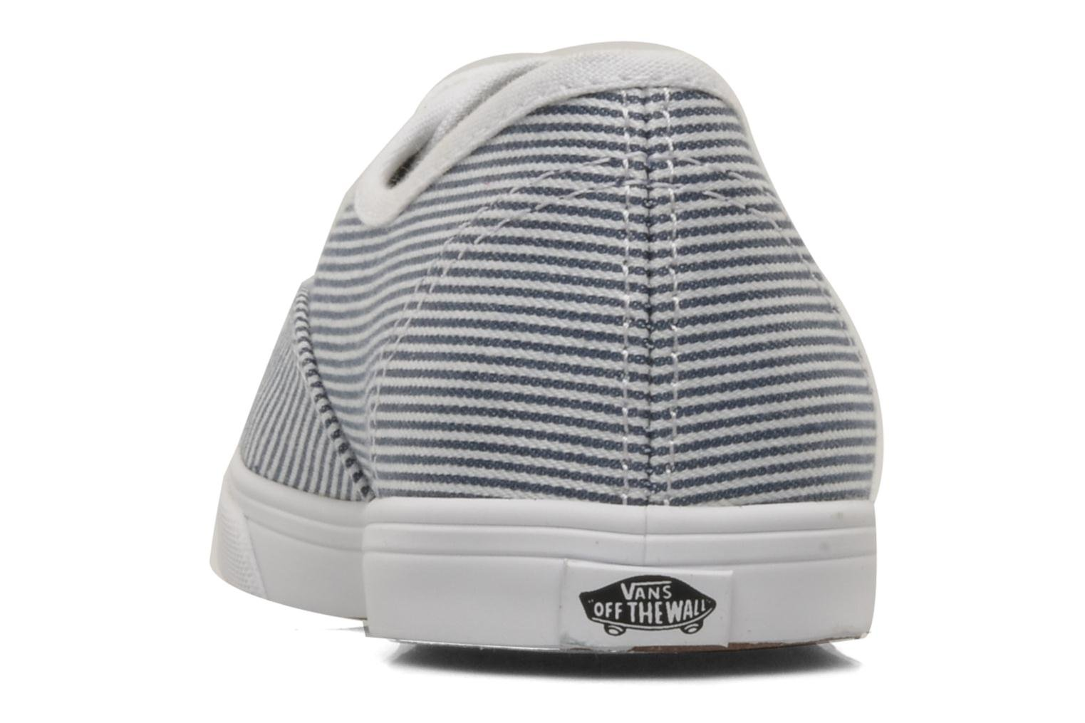 Black True white Vans Authentic Lo Pro W (Noir)