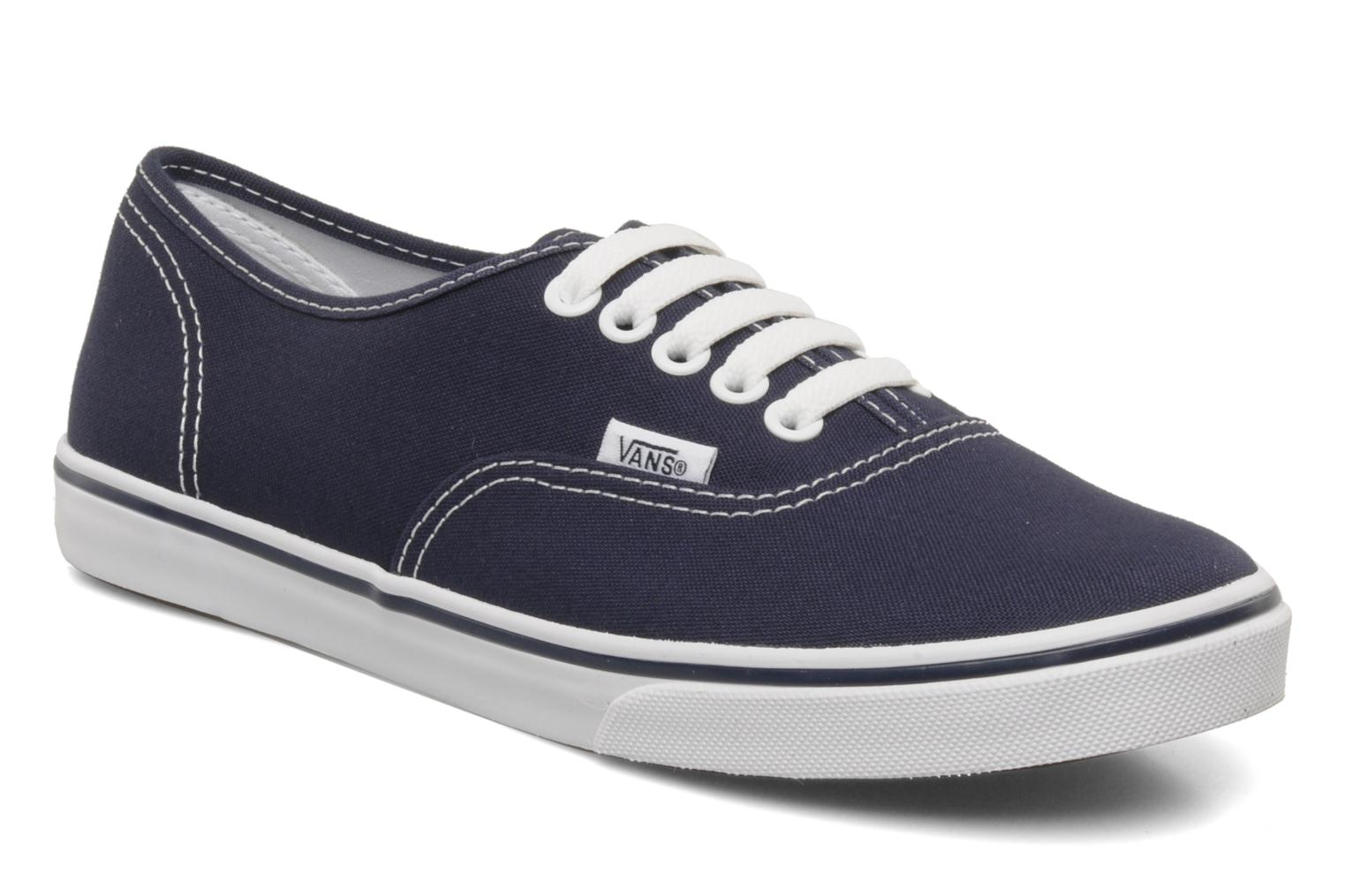 Baskets Vans Authentic Lo Pro W Bleu vue détail/paire