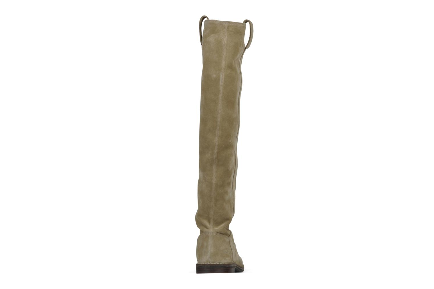 Boots & wellies Guess Annia Beige view from the right