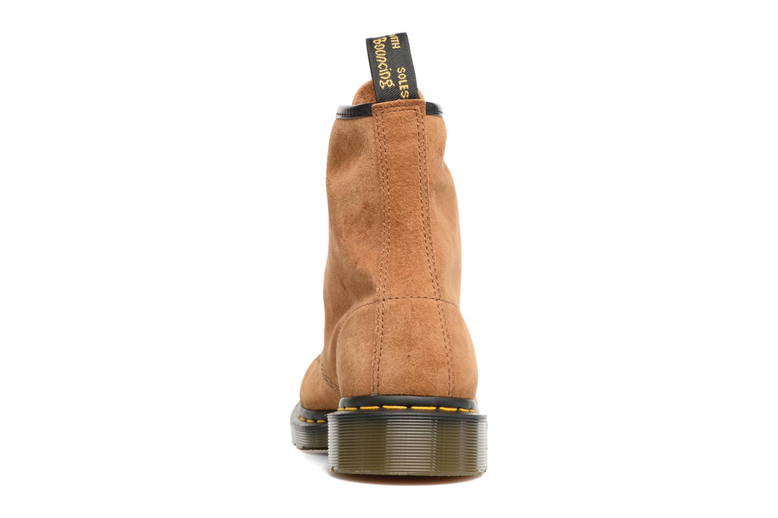 Ankle boots DR. Martens 1460 M Brown view from the right