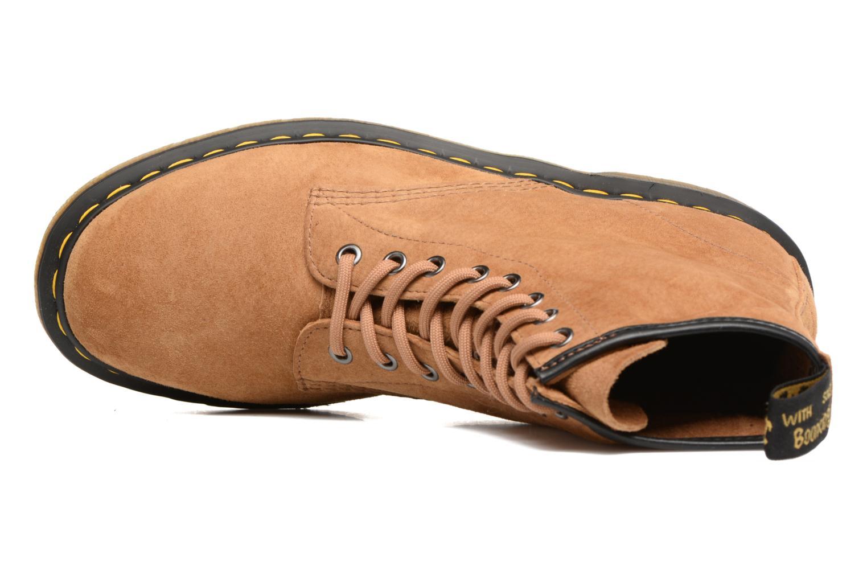 Bottines et boots Dr. Martens 1460 M Marron vue gauche