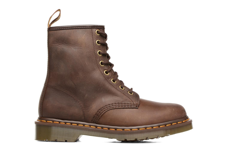 Bottines et boots Dr. Martens 1460 W Marron vue derrière