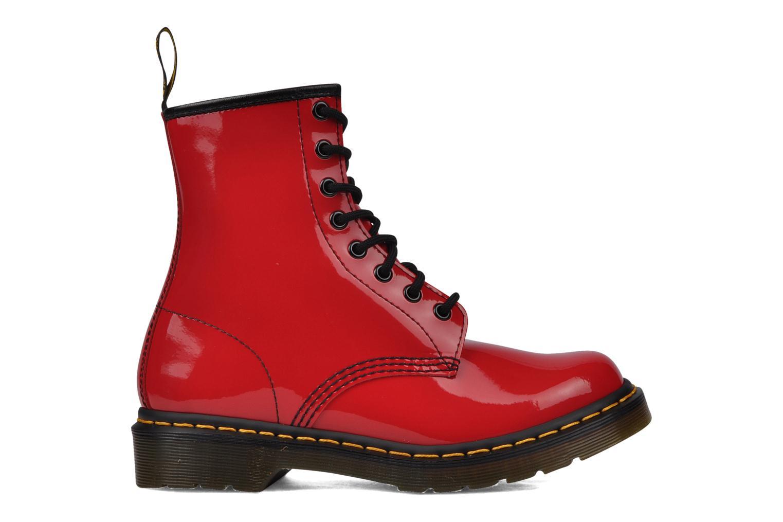 Boots en enkellaarsjes Dr. Martens 1460 W Rood achterkant
