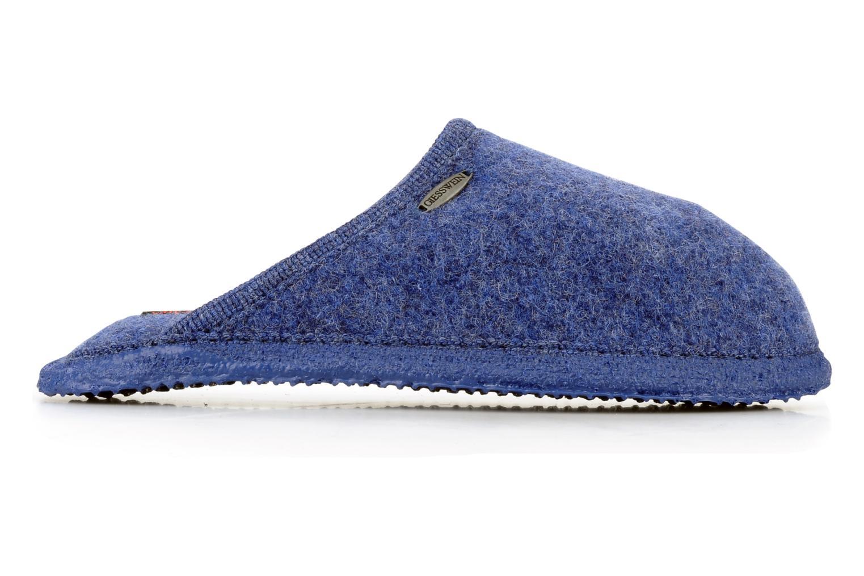 Pantoffels Giesswein Tino W Blauw achterkant