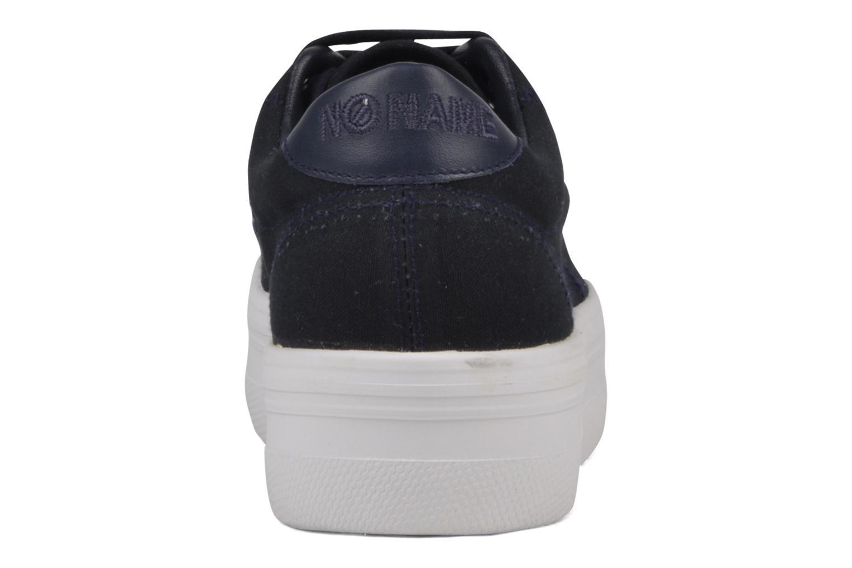 Sneaker No Name Plato Sneaker blau ansicht von rechts