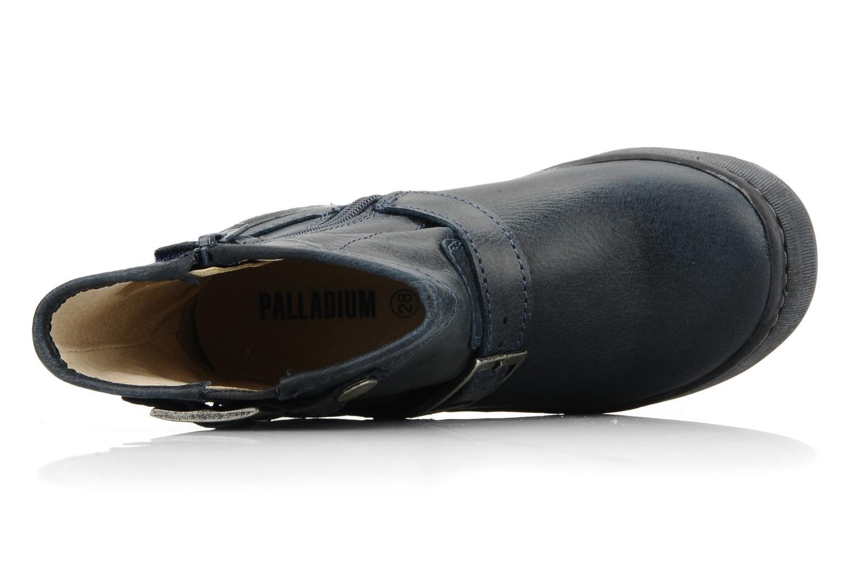 Boots en enkellaarsjes Palladium Botto Blauw links