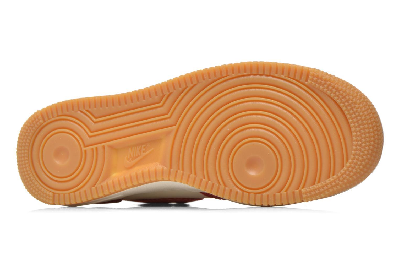 Sneaker Nike Air Force 1 Mid rot ansicht von oben