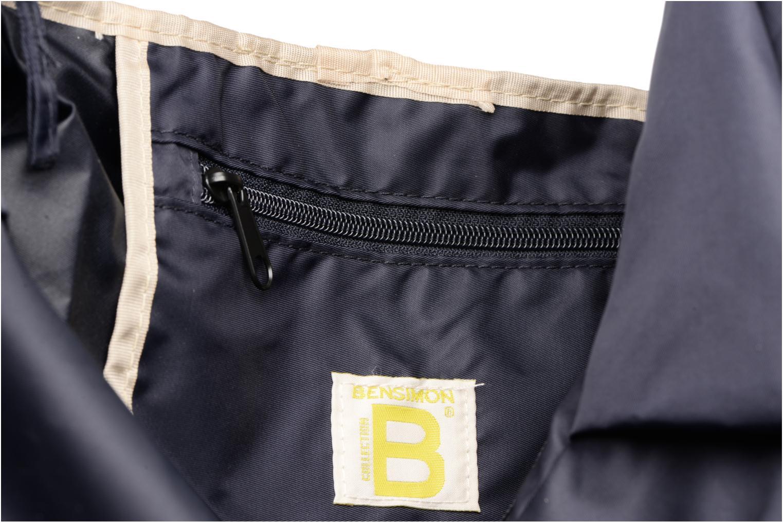 Sporttassen Bensimon Shoulder Bag Blauw achterkant