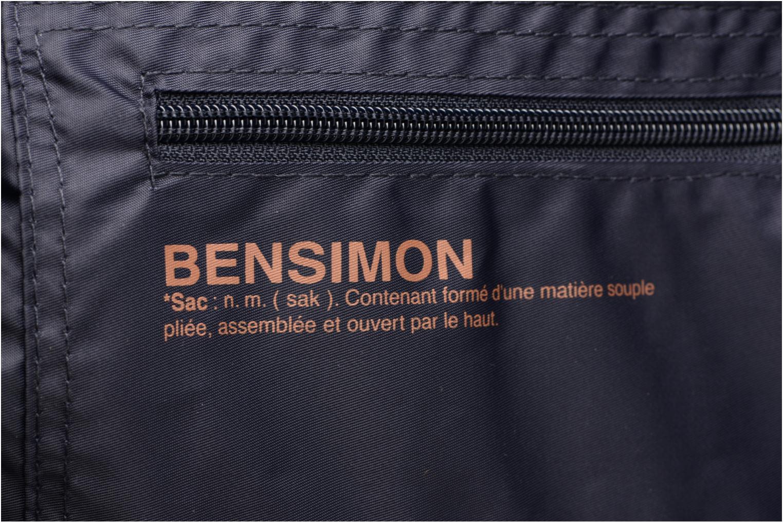 Sporttassen Bensimon Shoulder Bag Blauw links