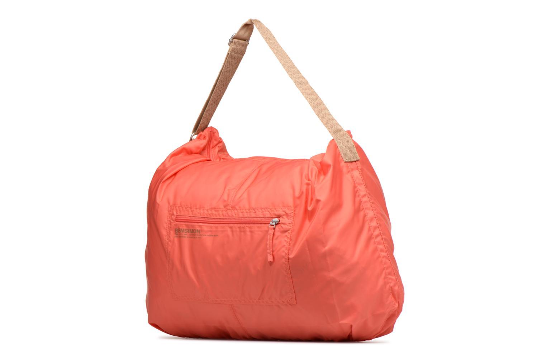 Sporttaschen Bensimon Shoulder Bag rosa schuhe getragen