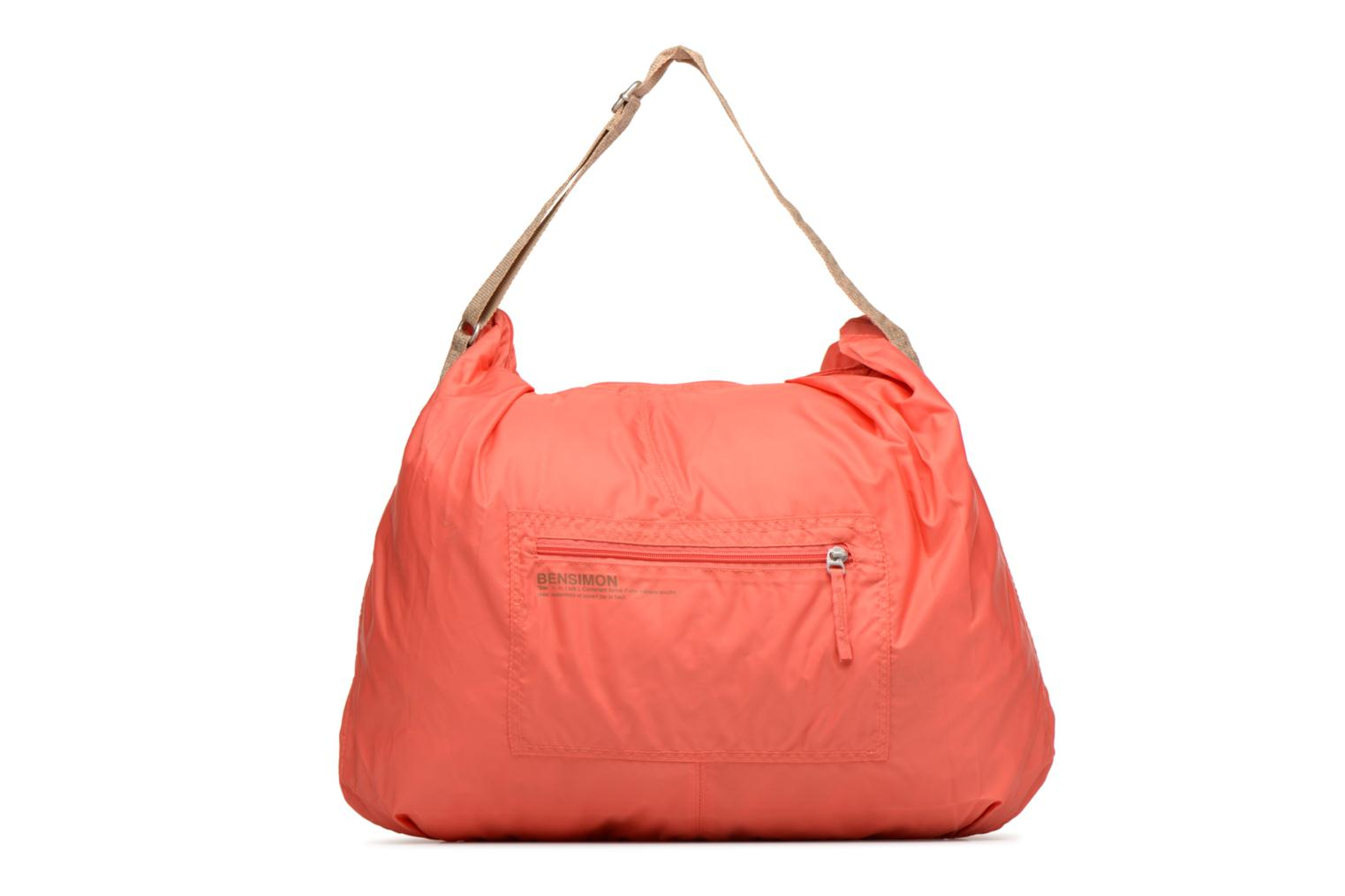 Sporttassen Bensimon Shoulder Bag Roze detail