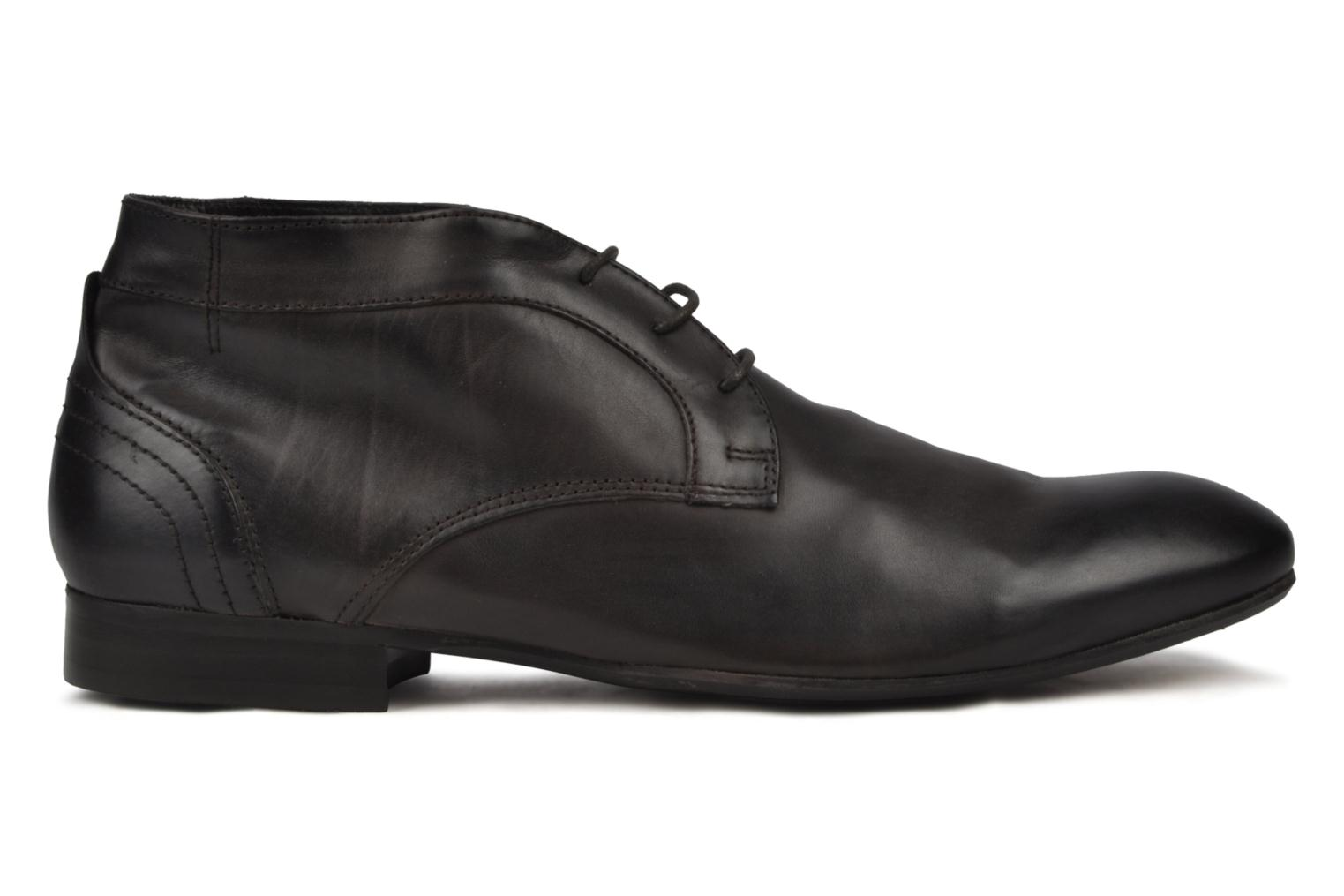 Lace-up shoes H by Hudson Thursom Brown back view