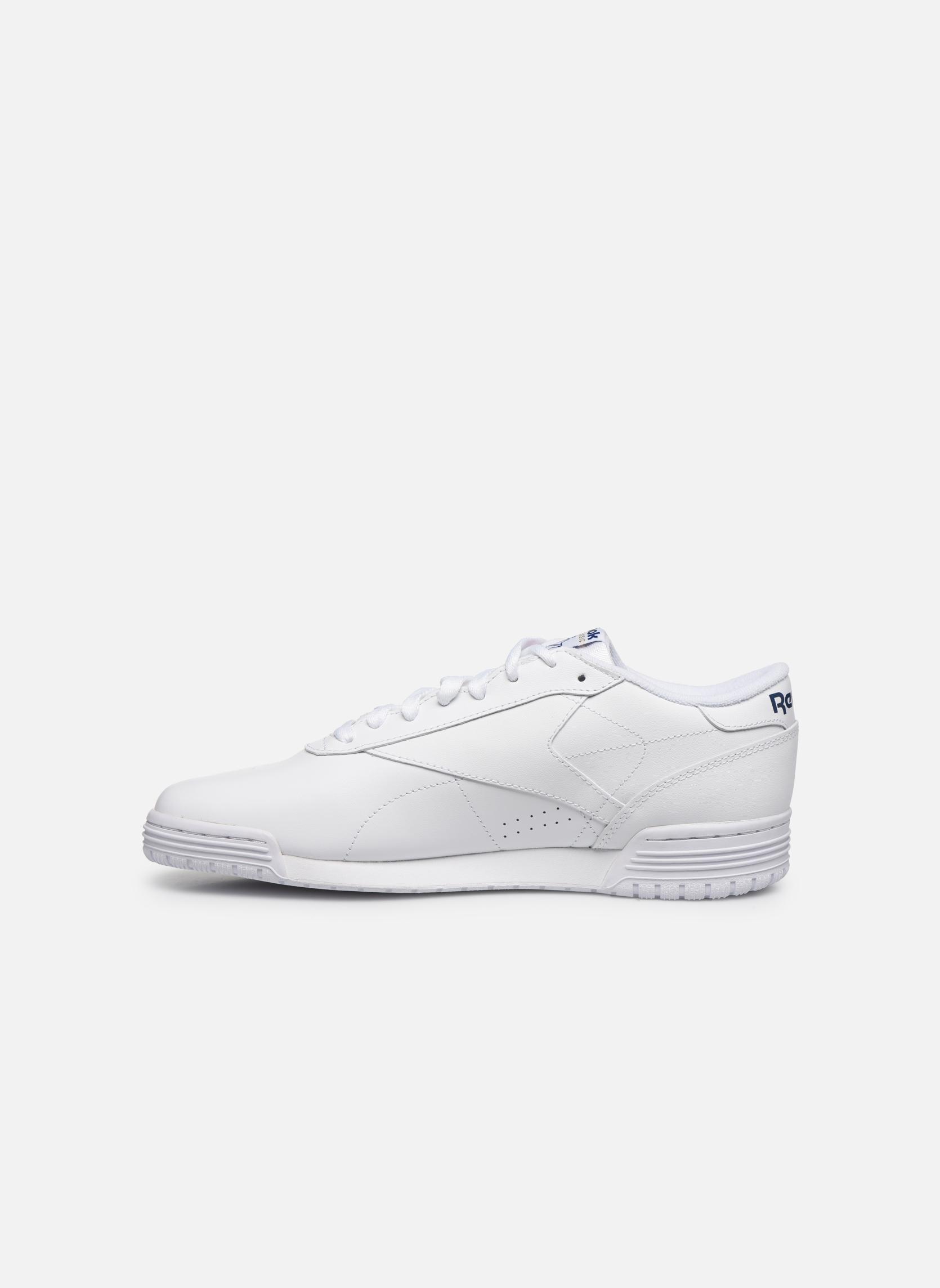 Sneakers Reebok Exofit Lo Clean Logo Int Wit voorkant