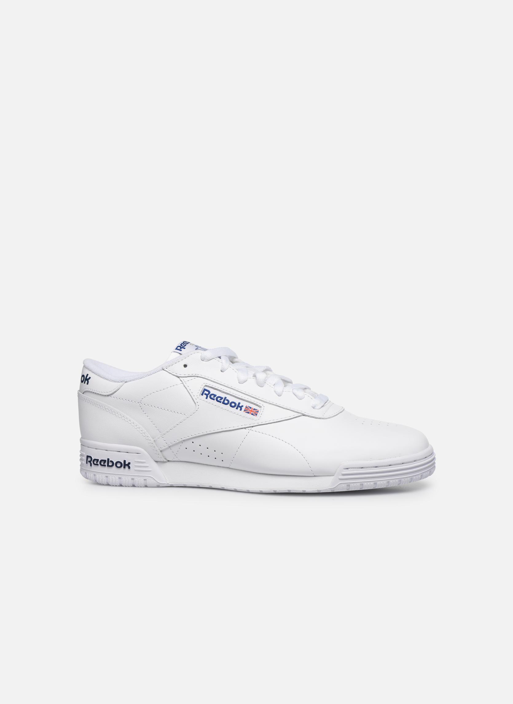 Sneakers Reebok Exofit Lo Clean Logo Int Wit achterkant