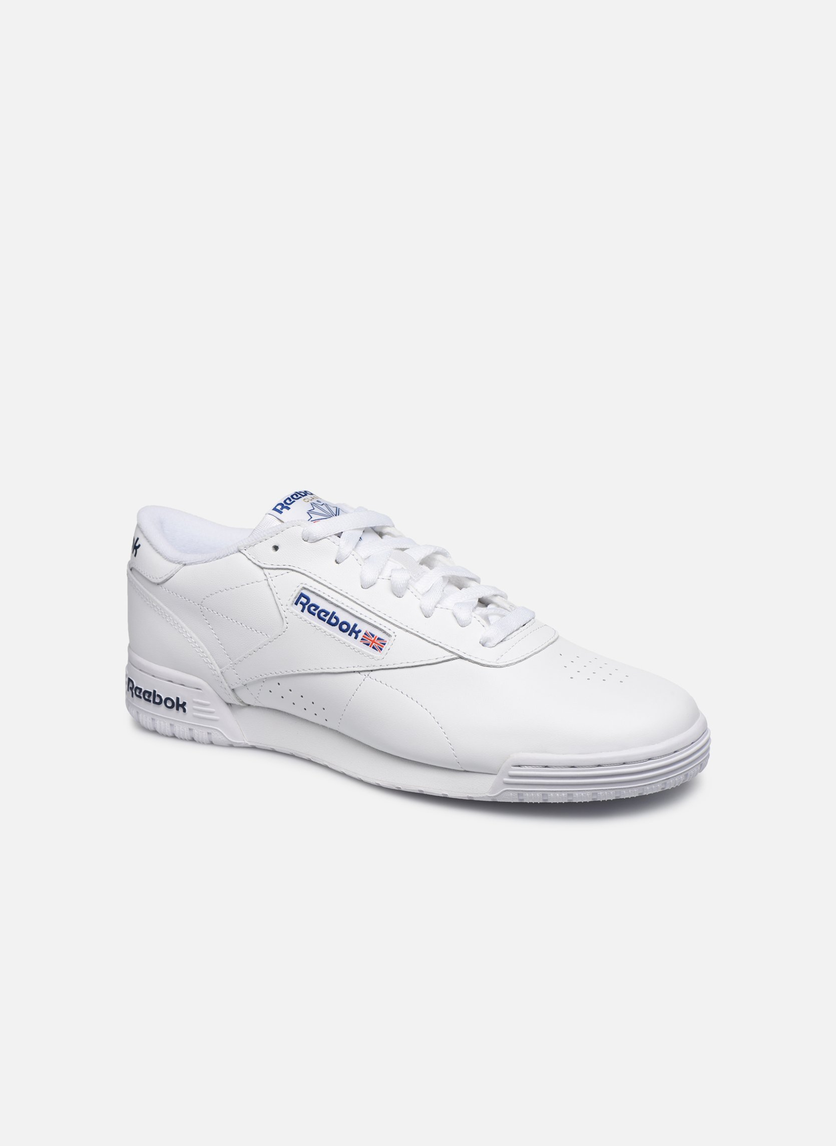 Exofit Lo Clean Logo Int Int-White/Royal Blue/Royal Blue