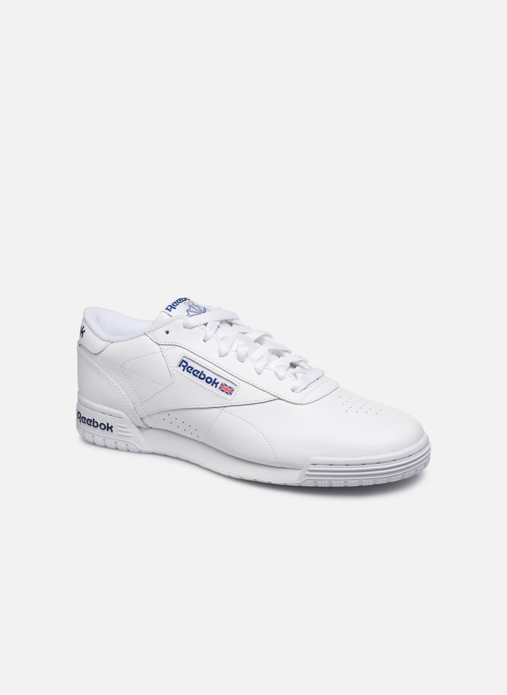 Exofit Lo Clean Logo Int Int-White/Royal Blue/Royal Blue