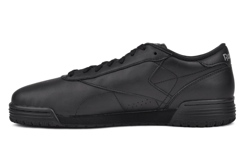 Sneakers Reebok Exofit Lo Clean Logo Int Zwart voorkant
