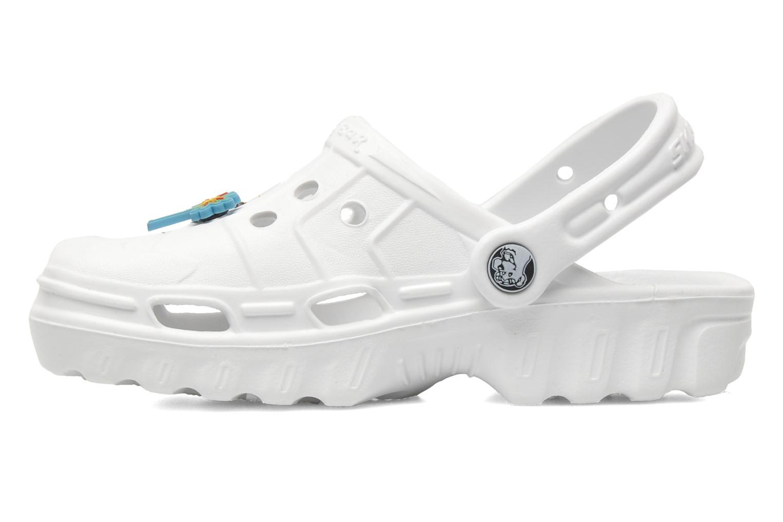 Sandales et nu-pieds Skechers Cali Gear Whirlies E Blanc vue face