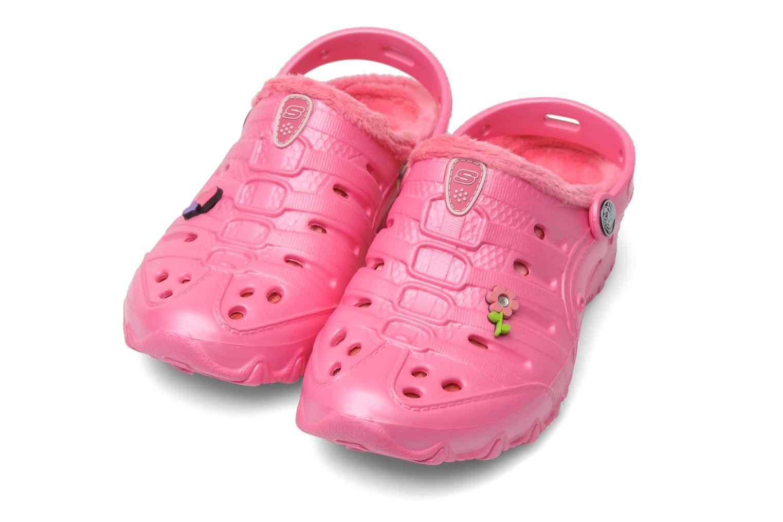 Sandals Skechers Cali Gear Darling E Pink 3/4 view
