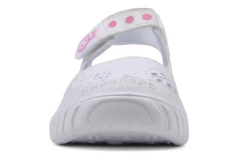 Sandalen Skechers Cali Gear Babybugs weiß schuhe getragen