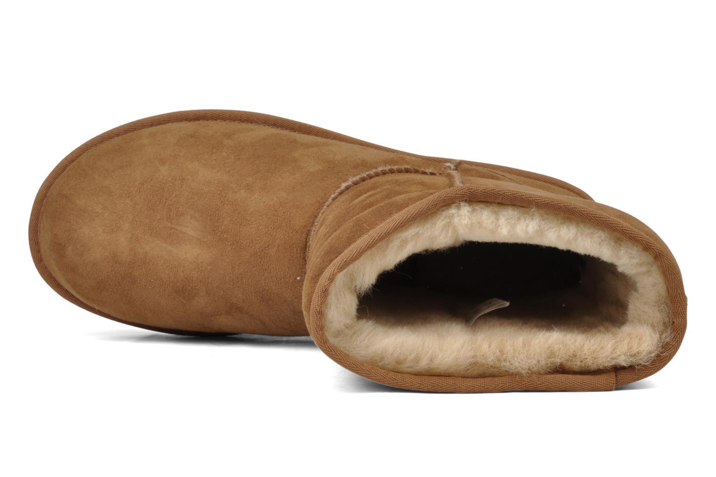 Boots en enkellaarsjes UGG Classic Short M Beige links
