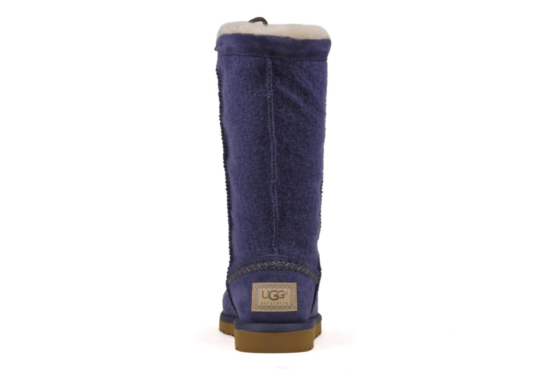 Boots en enkellaarsjes UGG Classic Tall Wool Blauw rechts