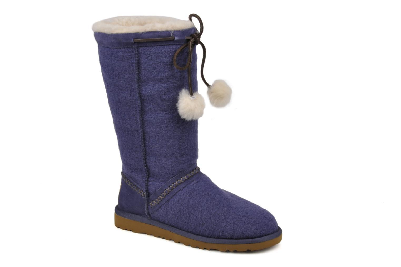 Boots en enkellaarsjes UGG Classic Tall Wool Blauw detail