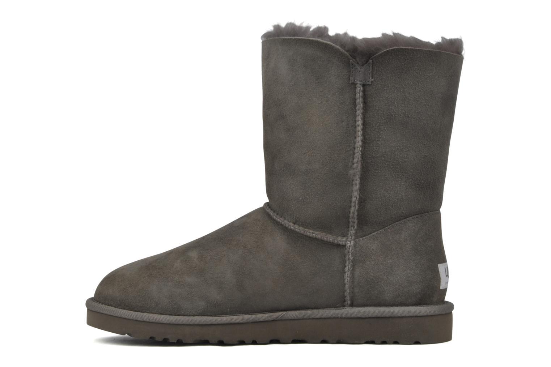 Stiefeletten & Boots UGG Bailey Button grau ansicht von vorne