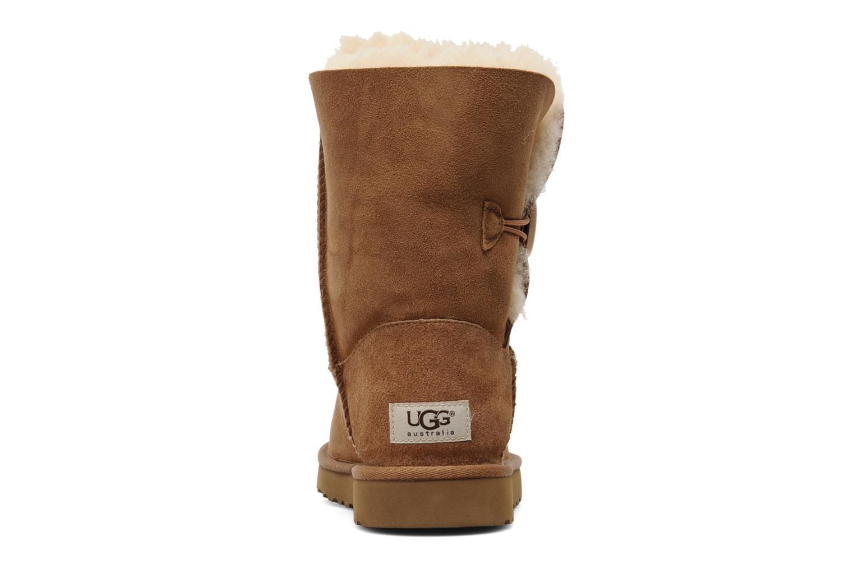 Stiefeletten & Boots UGG Bailey Button braun ansicht von rechts