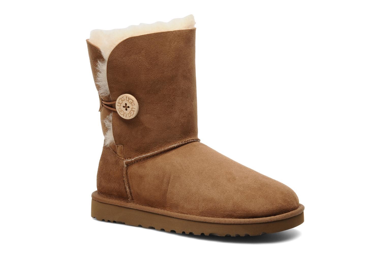 Stiefeletten & Boots UGG Bailey Button braun detaillierte ansicht/modell