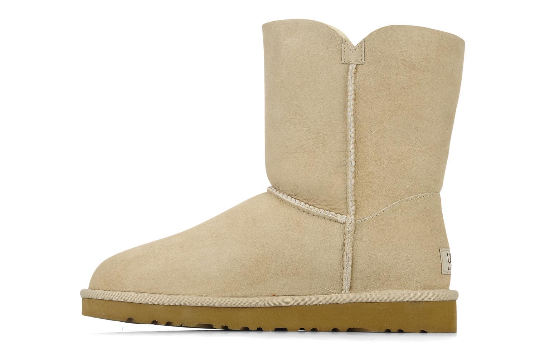 Boots en enkellaarsjes UGG Bailey Button Beige voorkant