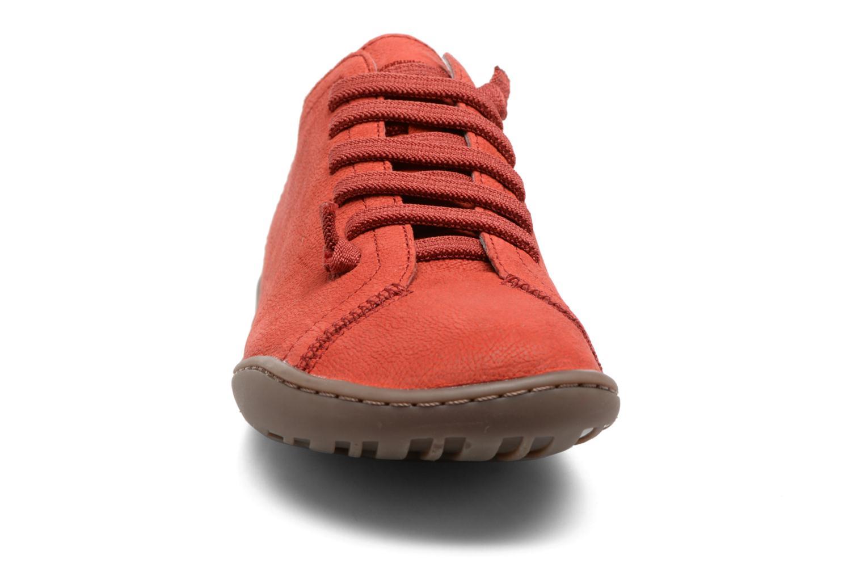 Sneaker Camper Peu Cami 20848 rot schuhe getragen