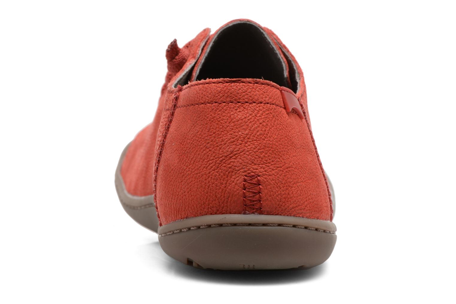Trainers Camper Peu Cami 20848 Red view from the right