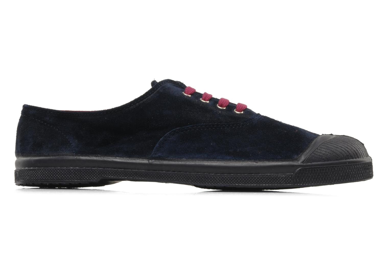 Trainers Bensimon Tennis Suede H Blue back view