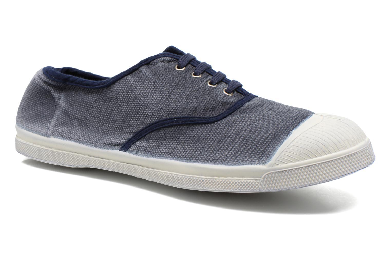 Sneaker Bensimon Tennis Vintage H blau detaillierte ansicht/modell