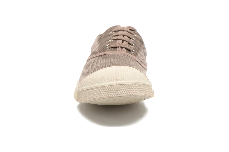 Baskets Bensimon Tennis Vintage H Beige vue portées chaussures