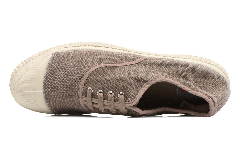 Sneaker Bensimon Tennis Vintage H beige ansicht von links