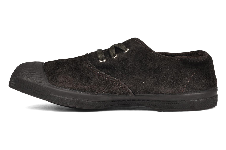Sneakers Bensimon Tennis Suede E Marrone immagine frontale
