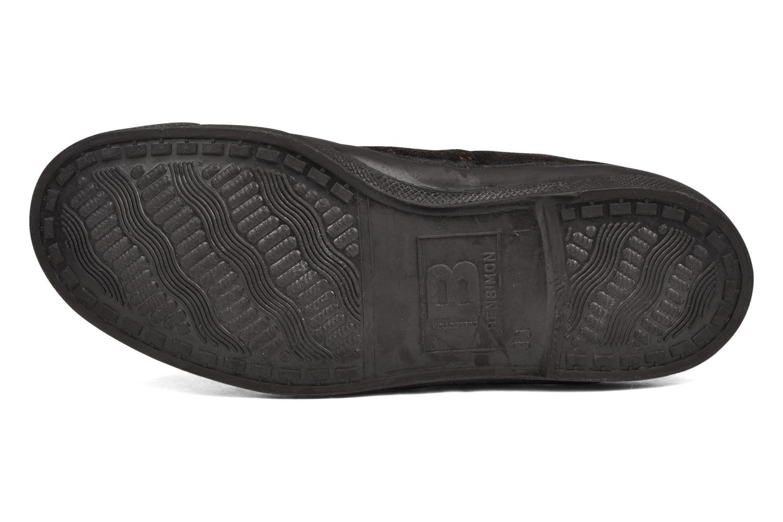 Sneakers Bensimon Tennis Suede E Bruin boven