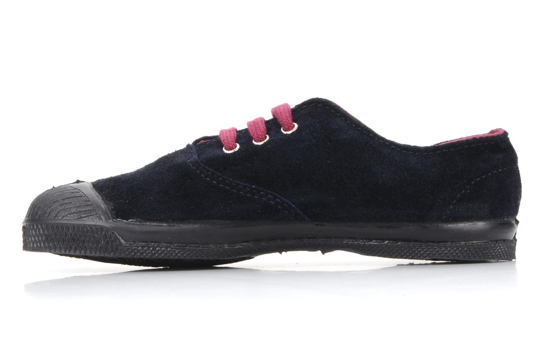 Sneakers Bensimon Tennis Suede E Blauw voorkant
