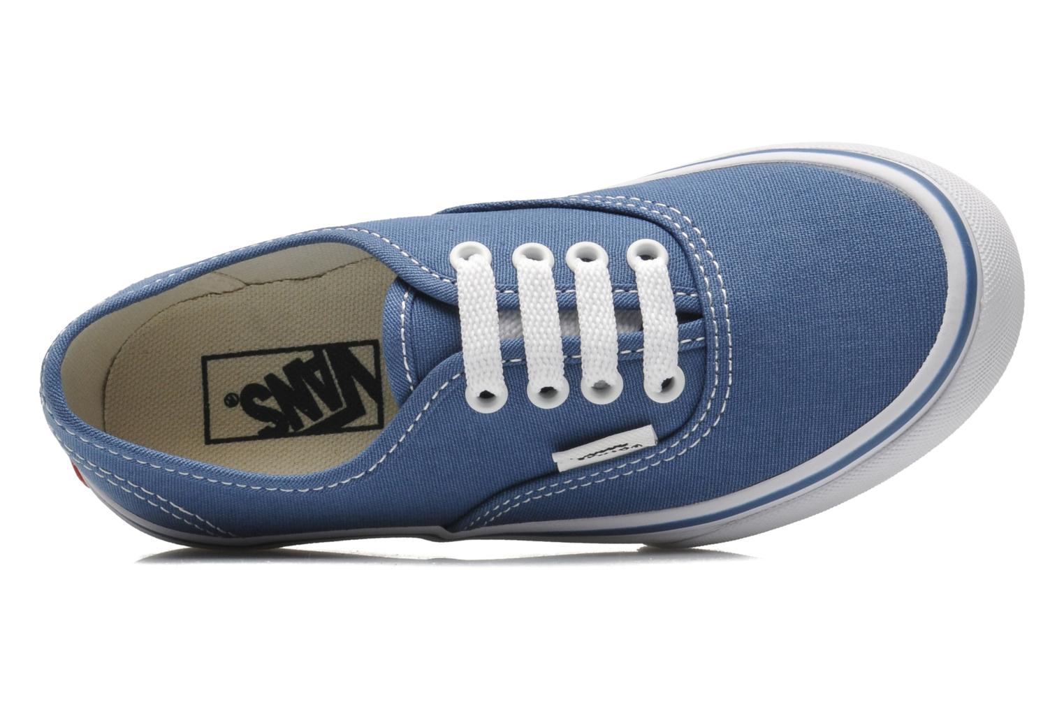 Sneakers Vans Authentic BB Blauw links