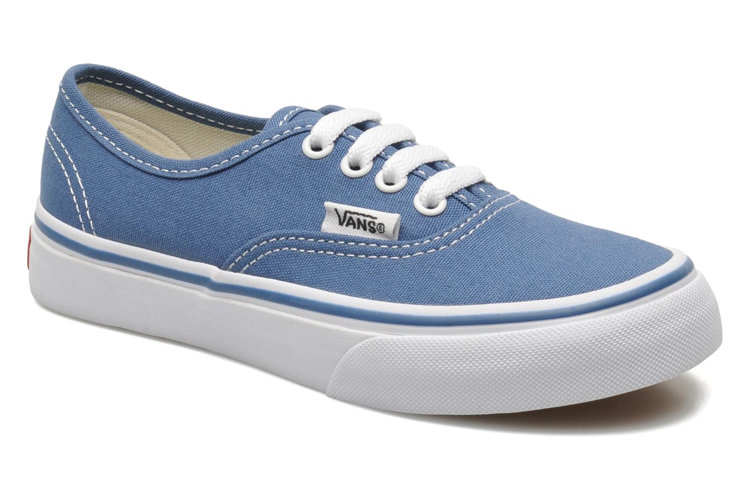 Sneakers Vans Authentic BB Blauw detail