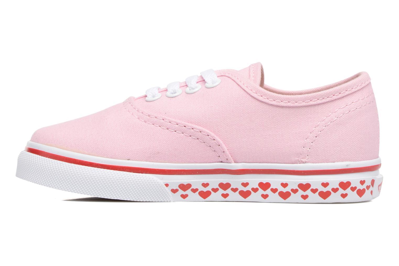 Sneaker Vans Authentic BB rosa ansicht von vorne