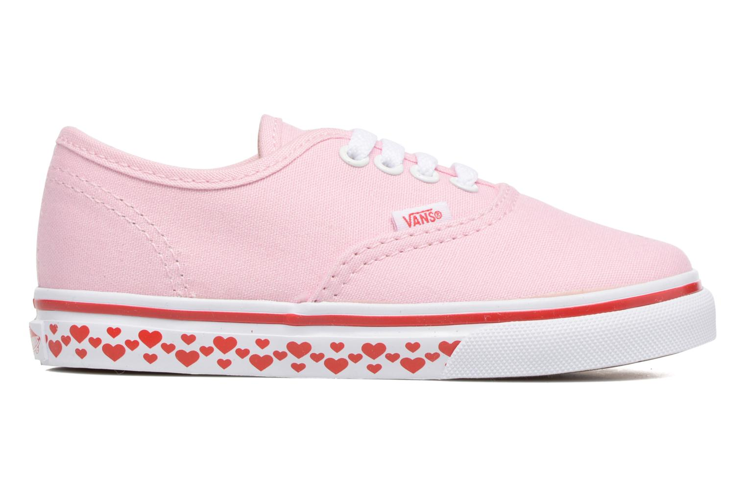 Baskets Vans Authentic BB Rose vue derrière