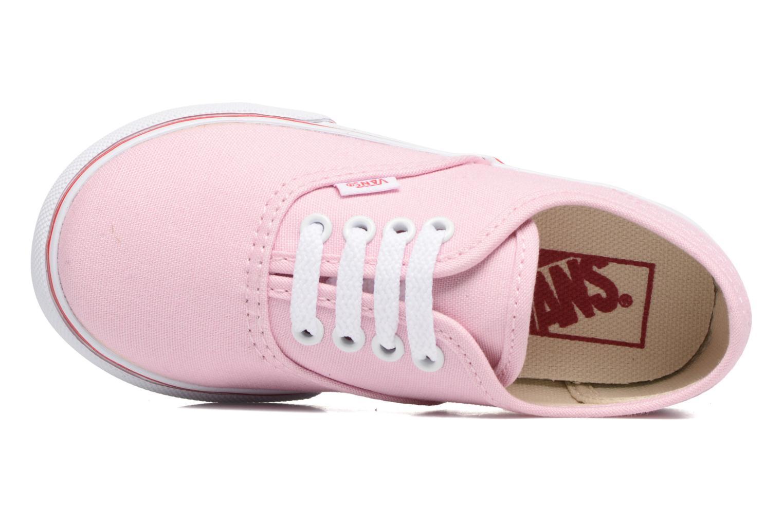 Sneaker Vans Authentic BB rosa ansicht von links