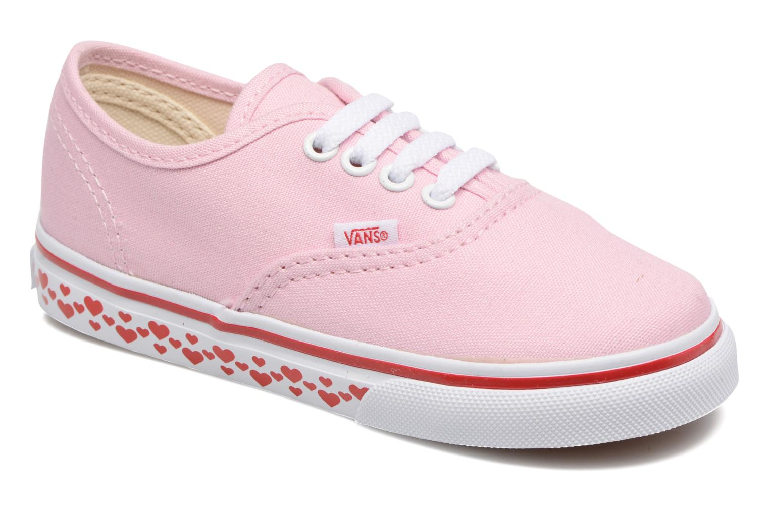 Baskets Vans Authentic BB Rose vue détail/paire