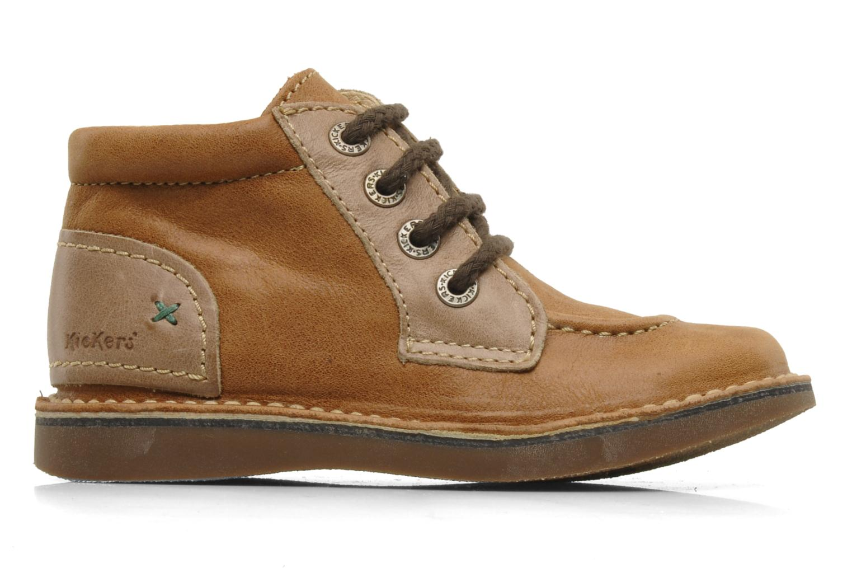 Stiefeletten & Boots Kickers World braun ansicht von hinten